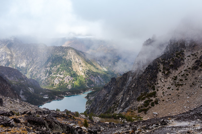 Colchuck Lake from Aasgard Pass