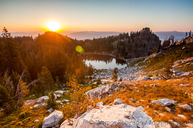 Sunrise Over Surprise Lake