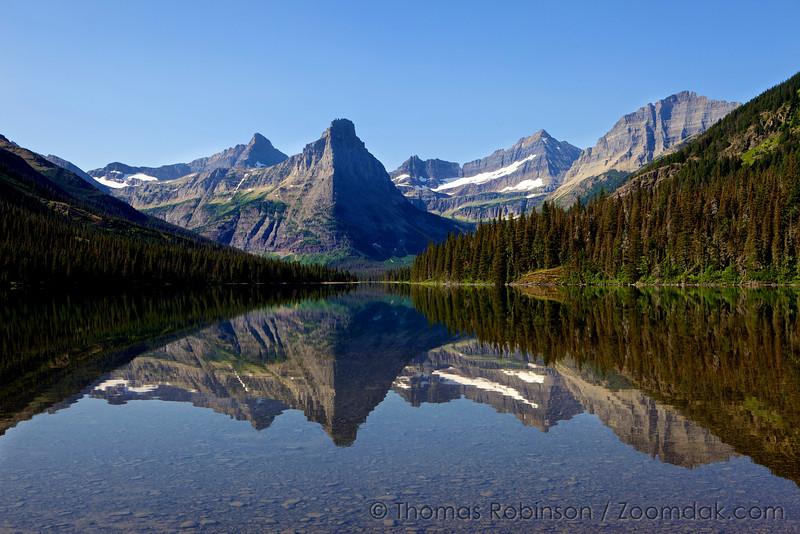 Glenn's Lake Morning Light, Glacier National Park