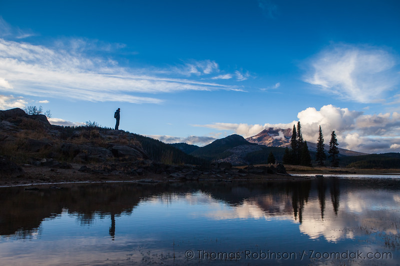 Sparks Lake Mountain Overlook