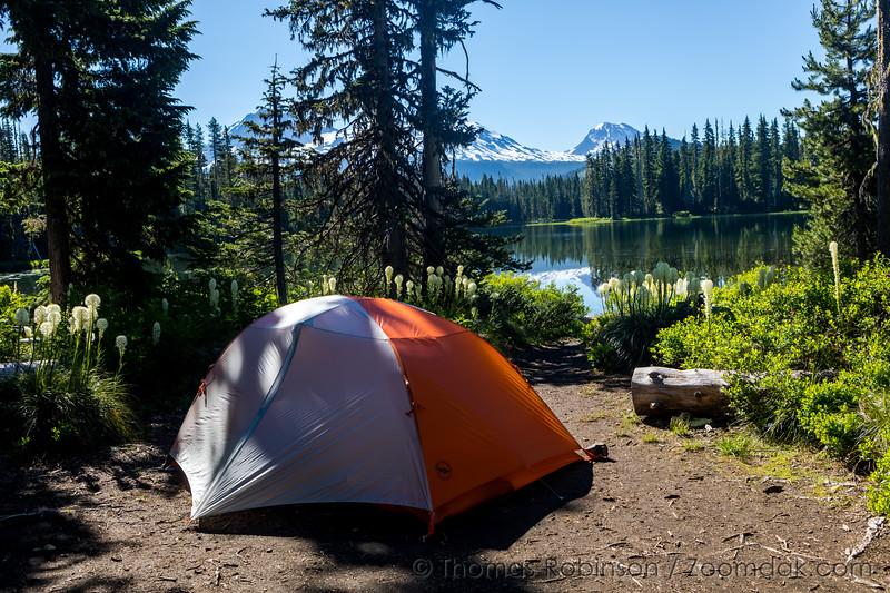 Camping at Scott Lake