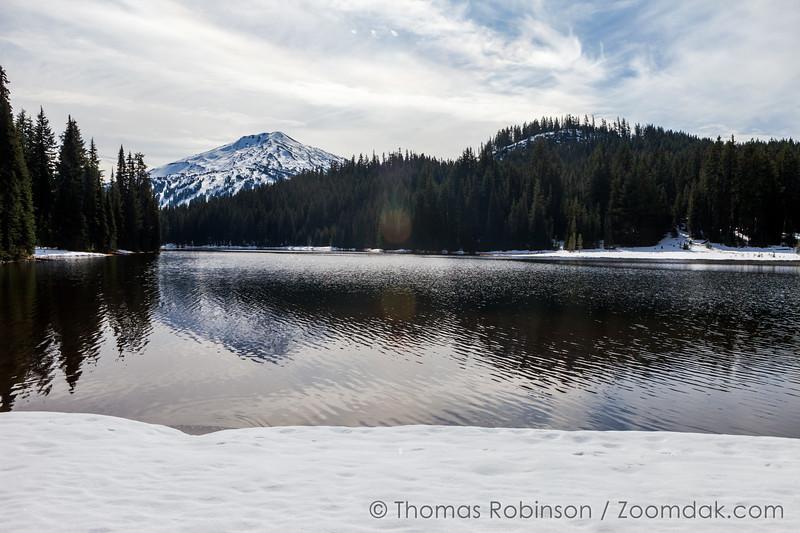 Snow at Todd Lake