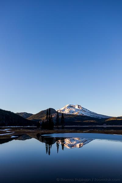 Blue Bird Skies Above Sparks Lake