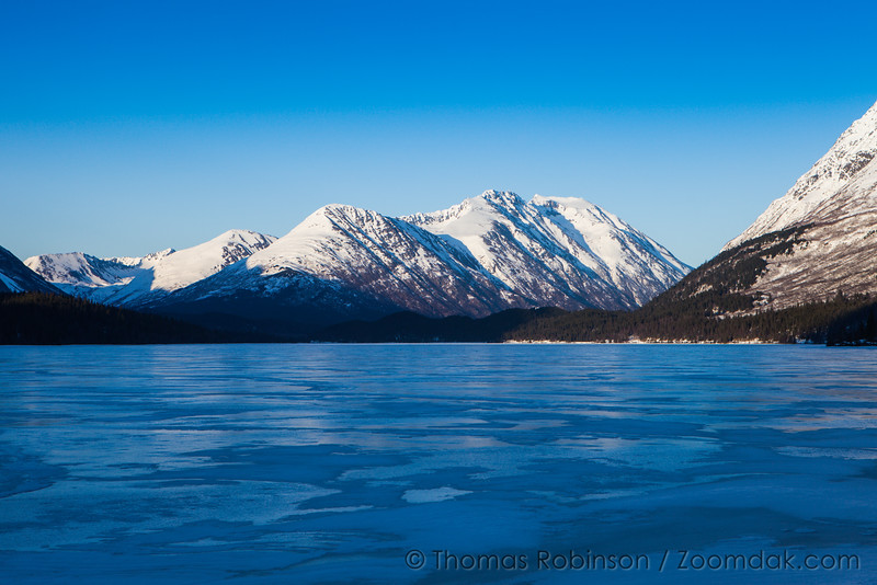 Alaskan Frozen Lake