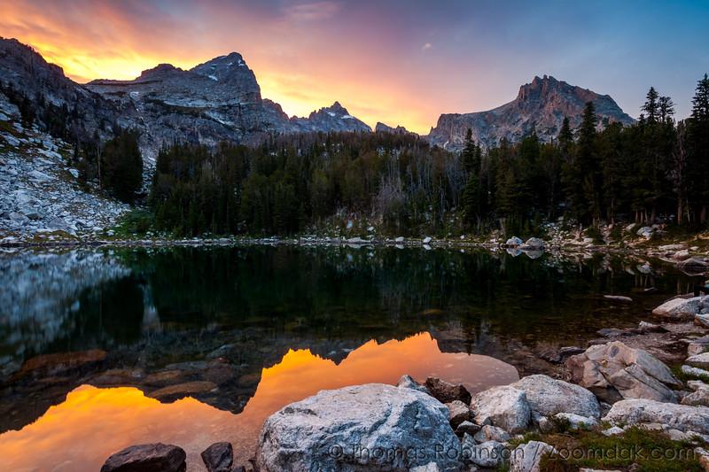 Surprise Lake Sunset