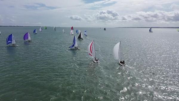J70 Race 2 DW Leg 2