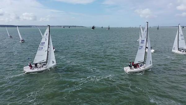 J70 Race 2 UW Leg 1
