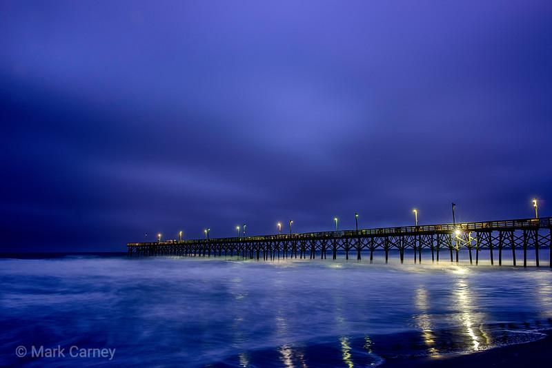 night pier