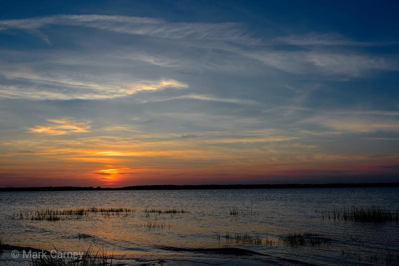 sunset grass 2