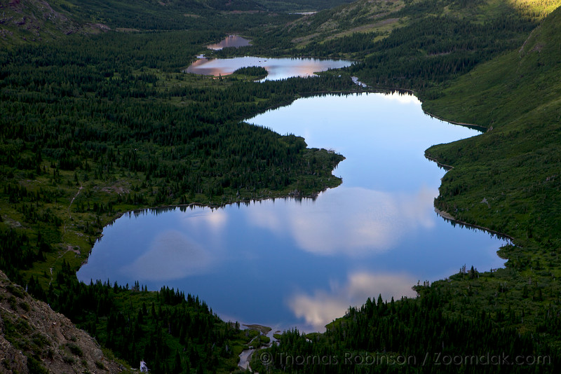 Swiftcurrent Valley Lakes