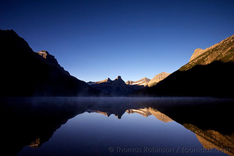 Sunrise on Glenns Lake - Glacier National Park