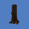 Stump Umbrella Stand #9178