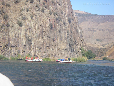 Floating past the basalt cliffs of insanity.