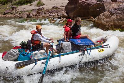 Rafting Lodore Canyon