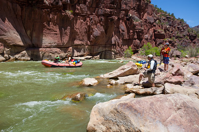 Rafting Lodore Canyon