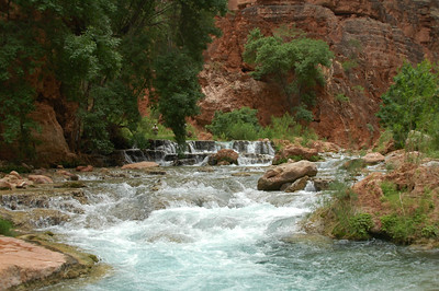 GRAND CANYON, AZ - Whitewater rafting down the Colorado River through the Grand Canyon - 225 miles, 18 days, 16 men, 14 swimmers, 8 rafts, 4 flips. Starting at Lees Ferry, AZ to Diamond Creek Take Out, AZ.
