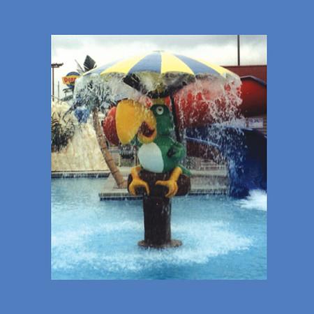 Parrot Rainmaker, 8'H #9083