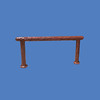 "Hitching Post Spray, 8'1""L x 3'8""H #9138"