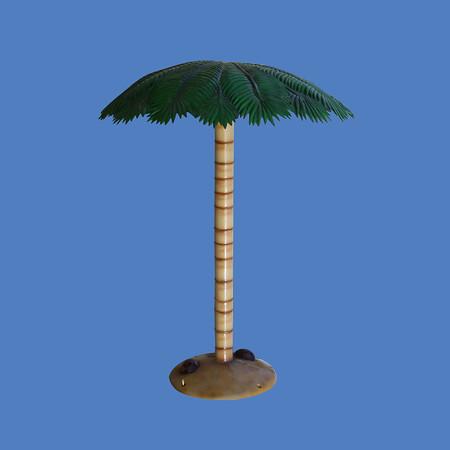 "Palm Tree Rainmaker, 9'6""H #9117"