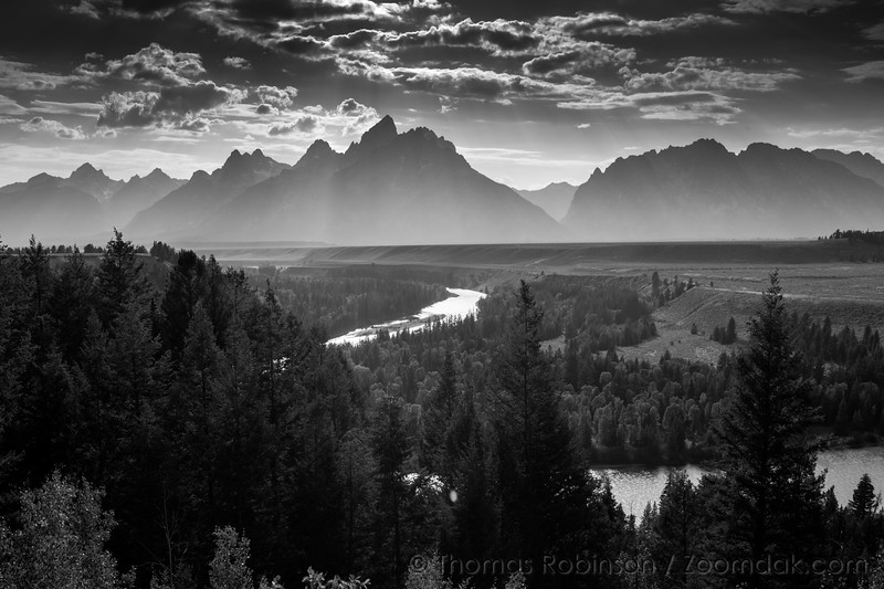 Classic Ansel Adams Snake River