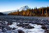 White River and Mt. Hood