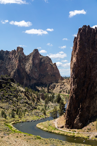 Smith Rock Ship Rock Vertical