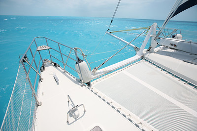 NASSAU, BAHAMAS - Departing for 10 days of sailing across the Caribbean Sea on a 40' catamaran to Panama City, Panama then through the Panama Canal. Over 1700 miles covered, seas were fair, sunny most of the way.