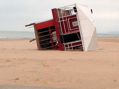 Overturned Beach House
