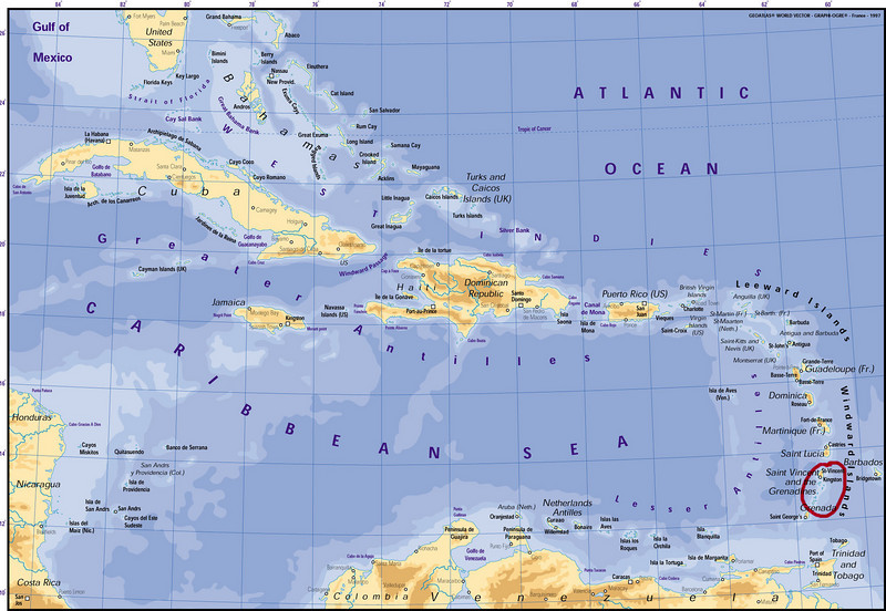 So where are the Grenadines?