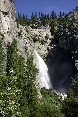 Various Waterfalls At Yosemite National Park, CA