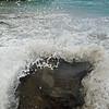 July 13, 2014.  Mahara Bay (green sand beach), Big Island, Hawaii.