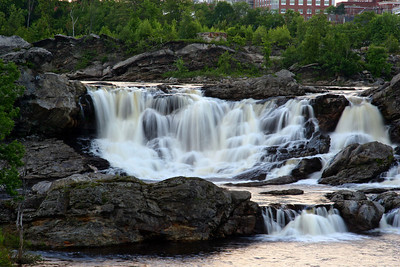 All's Calm in the City- Great Falls Lew-Aub Maine