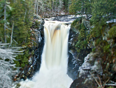 Moxie Falls, Maine