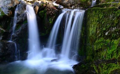 Upper Crystal Creek Falls, Whiskeytown