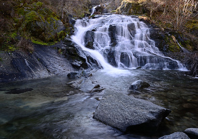 Lower Crystal Creek Falls, Whiskeytown