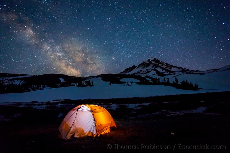 Camping at Camp Lake