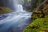 Koosah Falls and the  McKenzie River