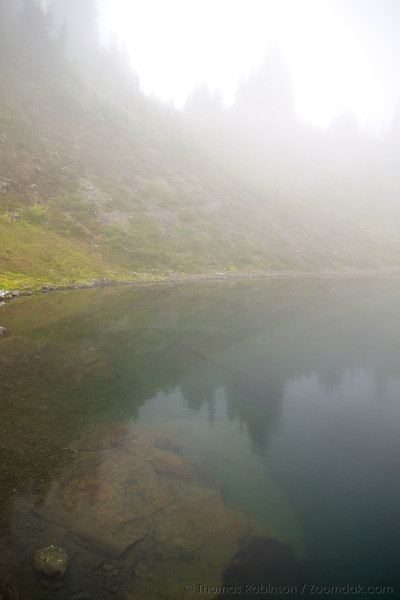 Fog and Lake