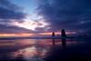 Wide Sky Beach Sunset