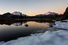 Partially Frozen Sparks Lake