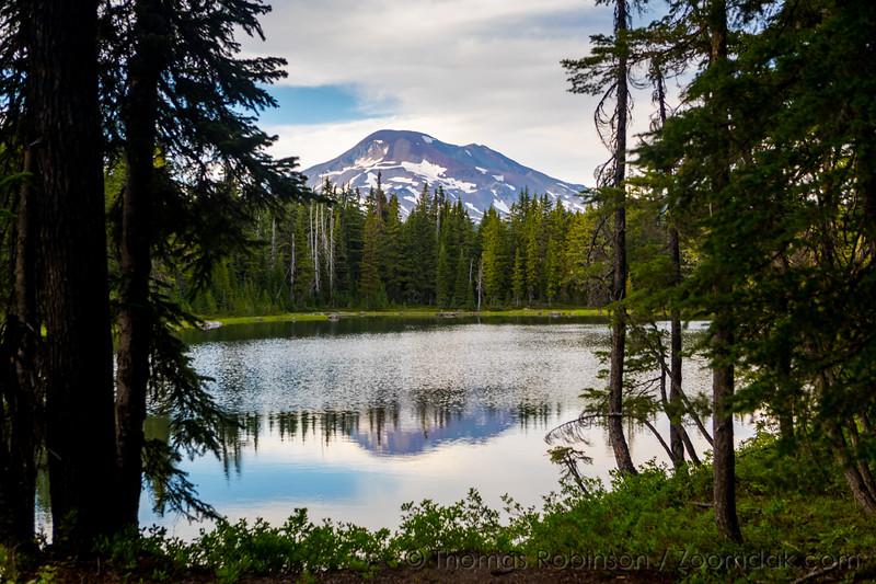 Camping at Sisters Mirror Lakes