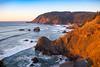 Indian Beach View, Golden Light