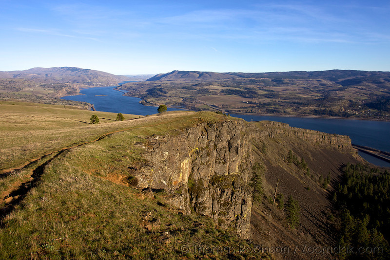 Coyote Wall and Columbia River