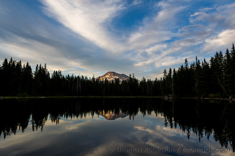 Sisters Mirror Lakes Horizontal