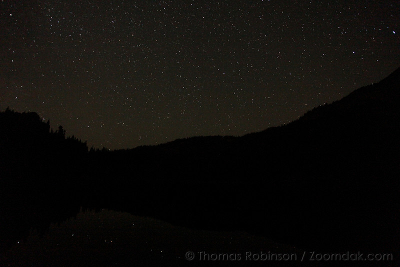 Stars Above Upper Lena Lake