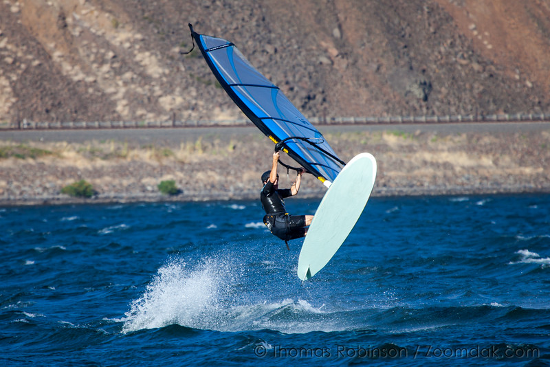 Kiteboarder on the Columbia River