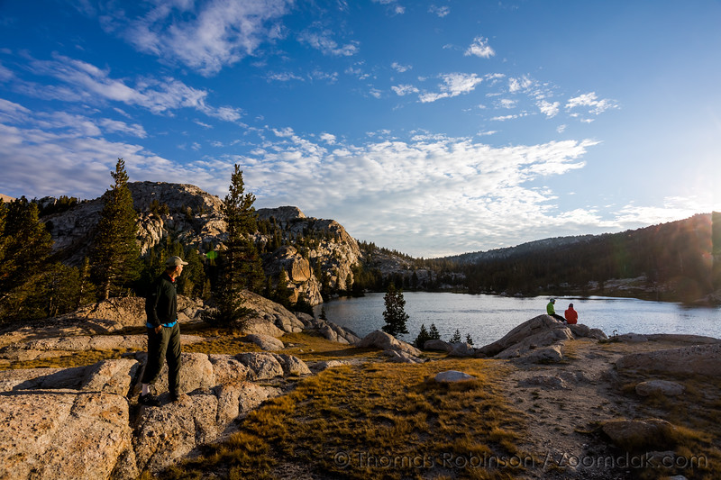 Morning on Booth Lake