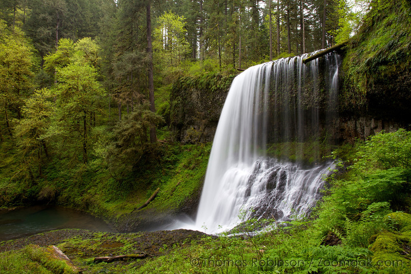 Silver Falls State Park Waterfall