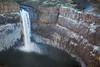 Winter at Palouse Falls