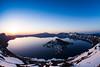 Sunrise at Crater Lake, Oregon